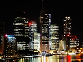 32 - Brisbane from Kangaroo Point at night