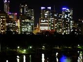 36 - Brisbane from Kangaroo Point at night