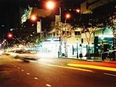 63 - Adelaide St at night