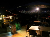 133 - Mt Coot-tha's Summit Restaurant and its view of Brisbane