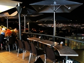 137 - Mt Coot-tha's Summit Restaurant and its view of Brisbane