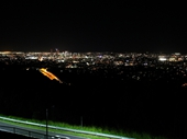 138 - Brisbane from Mount Coot-tha lookout at night