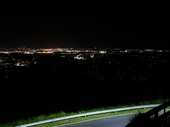 139 - Brisbane from Mount Coot-tha lookout at night