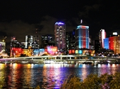 74 - Brisbane buildings lit up during the G20 conference