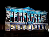 79 - Light show on old Queensland Museum building