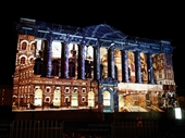 80 - Light show on old Queensland Museum building