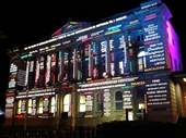 81 - Light show on old Queensland Museum building