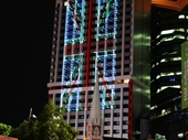 83 - British flag on Suncorp building during G20 conference