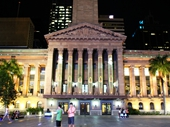 85 - Light show on City Hall during G20 conference