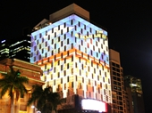 86 - Light show on Mercure Hotel during G20 conference