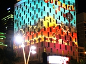 89 - Light show on Mercure Hotel during G20 conference