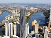 02 - Brisbane from the air