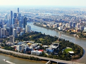 03 - Brisbane from the air