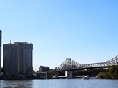 14 - Riverside apartments and Story Bridge