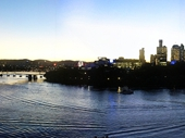 45 - Brisbane from Kangaroo Point at Twilight