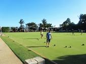 154 - Barefoot bowls at Merthyr Bowls Club