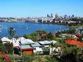 166 - View of City from Toorak hill