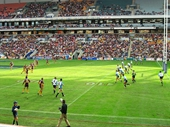 182 - Brisbane Broncos on the attack at Suncorp Stadium