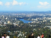 190 - View to St Lucia from Mt Coot-tha