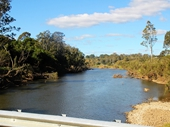 209 - Brisbane River at East Sommerville Bridge