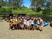 210 - Church group I lead canoeing at Fernvale