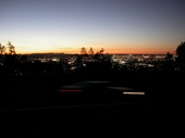 217 - City from Mt Gravatt at sunset