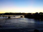 228 - Brisbane River from Kangaroo Point at sunset